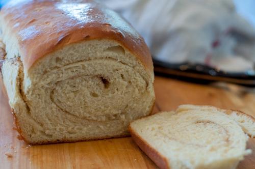 Homemade Cinnamon Swirl Bread by Farmwife Feeds, tried and true sweet yeast bread recipe #