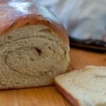 Homemade Cinnamon Swirl Bread