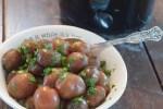 Crock Pot Buttered Parsley Potatoes are a super simple side dish recipe from Farmwife Feeds. #recipe #sidedish #crockpot #potatoes