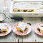 Easy Blueberry Cream Cheese Cake