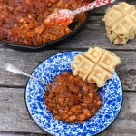 Over The Top Double BBQ Baked Beans