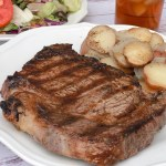 Steakhouse Grilled Steaks At Home