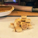 Tiny Pie Crust Cinnamon Rolls