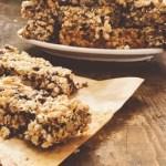 Sweetened Baked Granola Bars