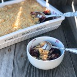 Blueberry Cream Cheese Crumble Cake