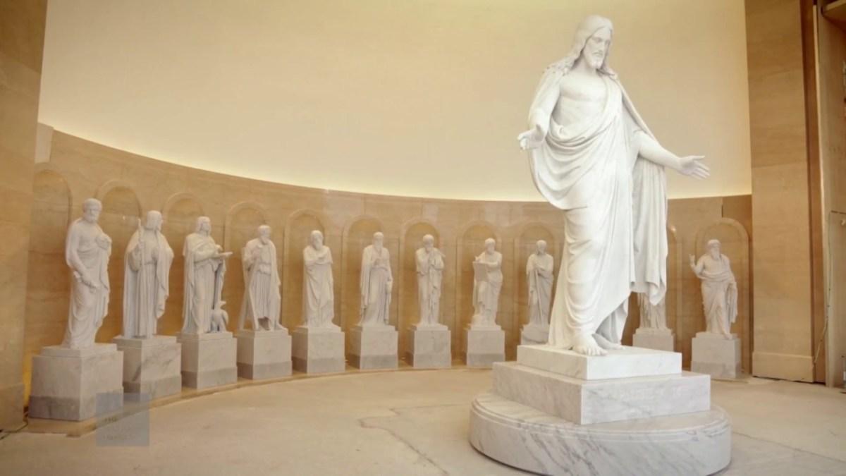 Templo de Roma despierta curiosidad de otros religiosos