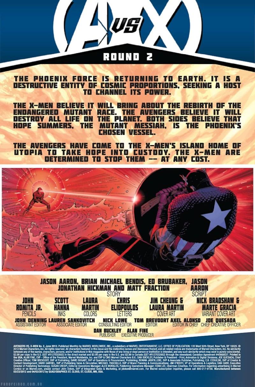 Preview de Vingadores vs. X-Men #2