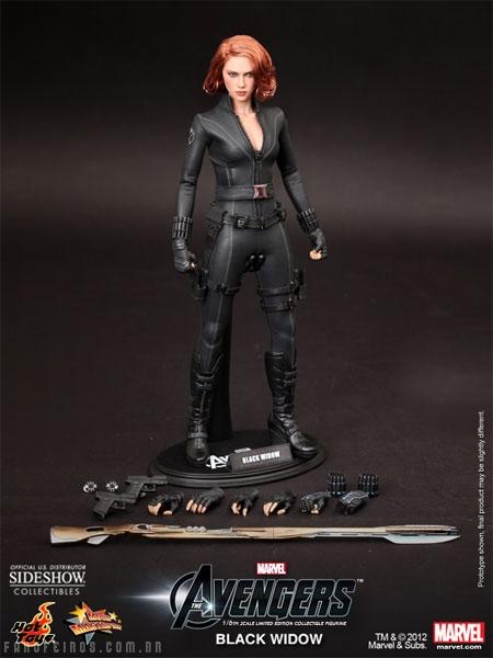 Viúva Negra da Hot Toys