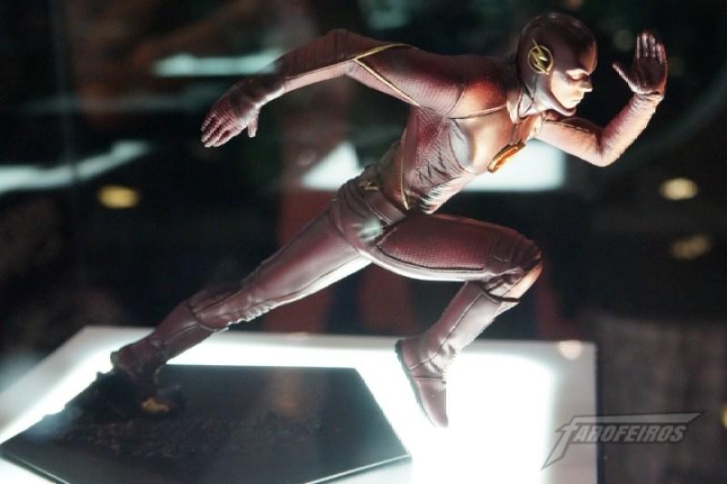 Farofeiros na CCXP 2015 - Flash da TV pela Iron Studios