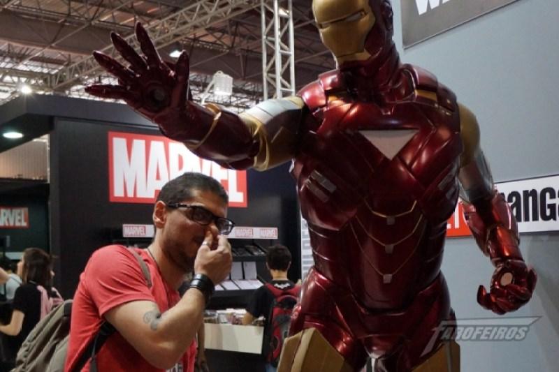 Farofeiros na CCXP 2015 - Rockerz e o sovaco do Homem de Ferro