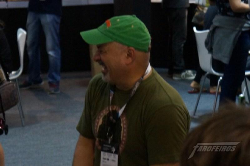 Farofeiros na CCXP 2015 - Dan DiDio feliz!