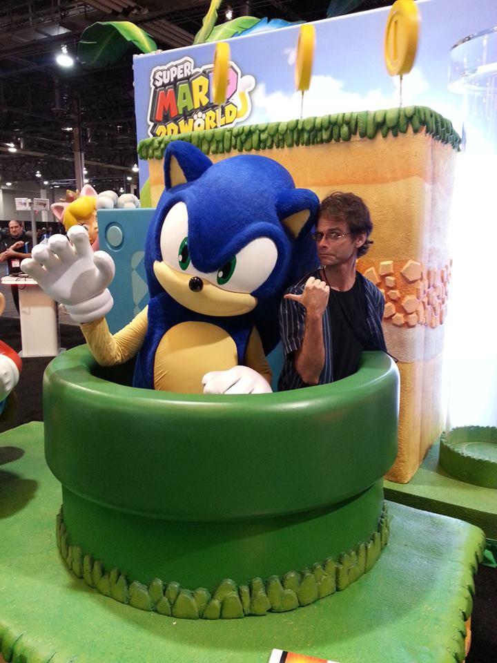 Sonic desesperado - Blog Farofeiros