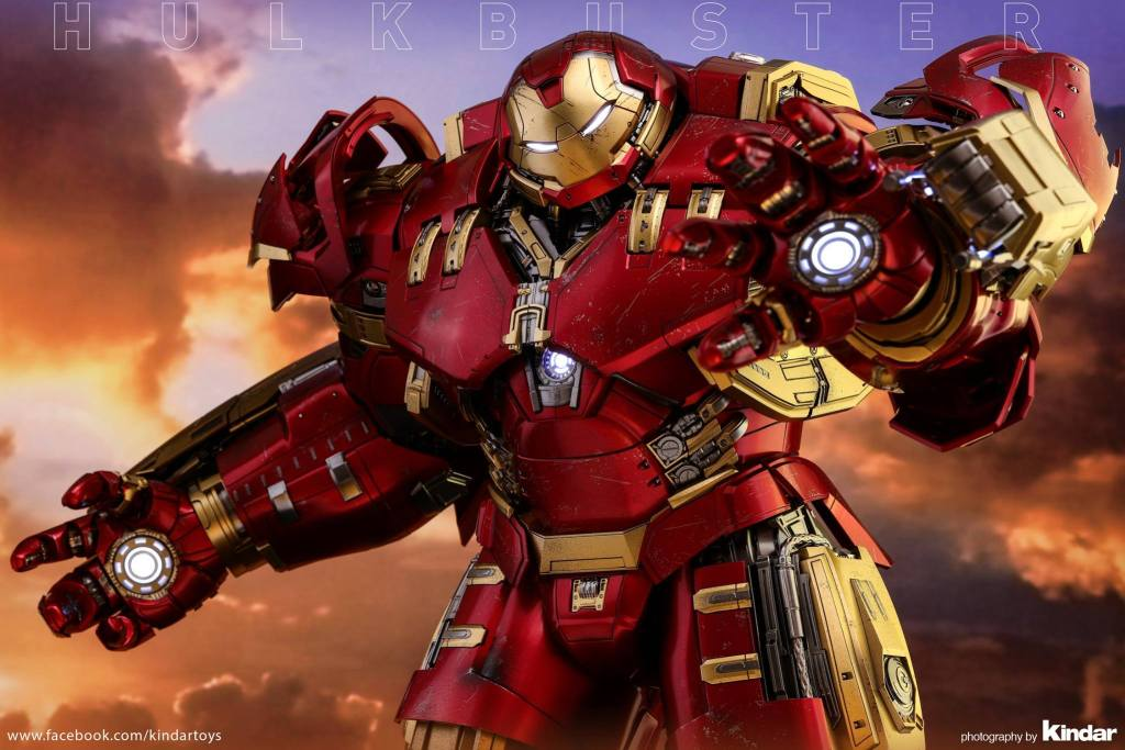 Versão final do Hulkbuster da Hot Toys - Blog Farofeiros