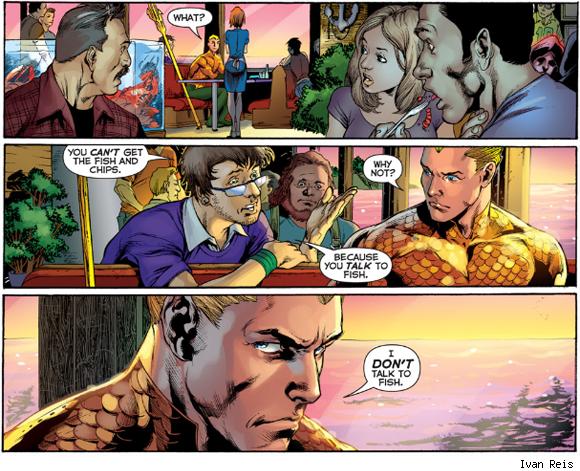 Deu vontade de ler Aquaman agora