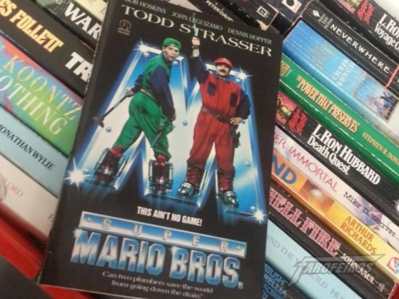 Super Mario: O livro é melhor que o filme!
