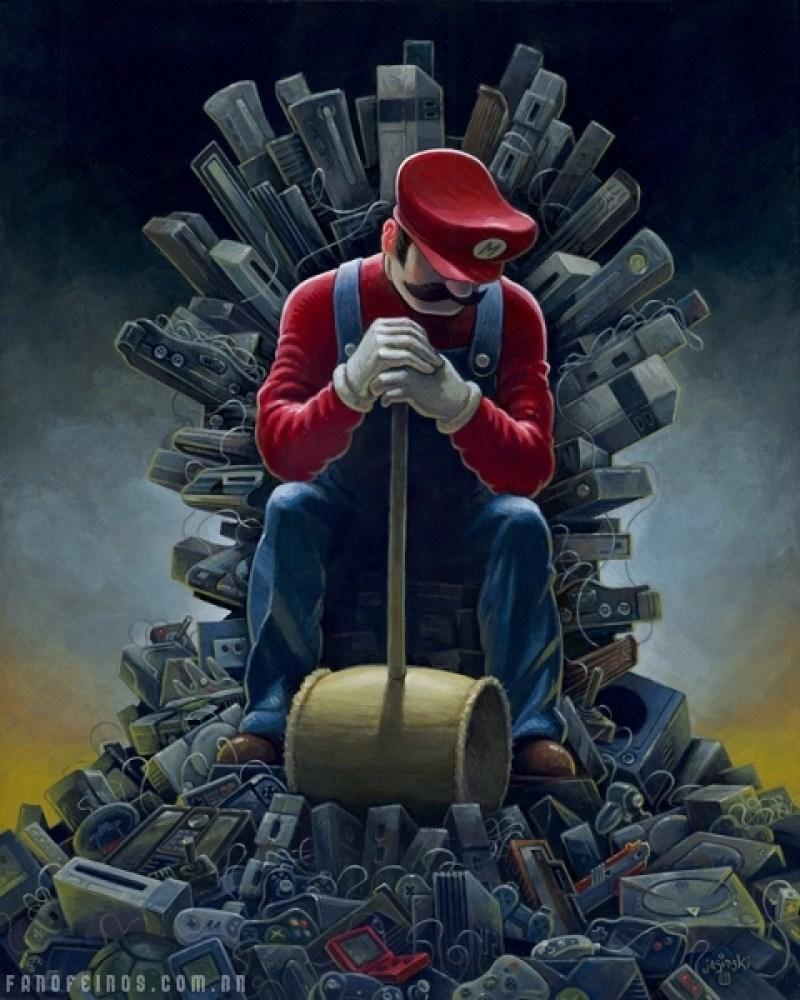 Super Mario - Throne of Games - Blog Farofeiros