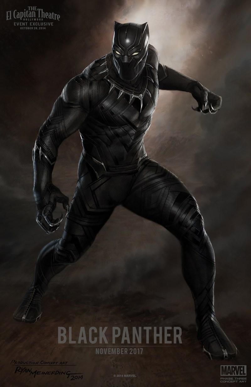 O que você precisa saber sobre os novos filmes da Marvel: Chadwick Boseman como Pantera Negra