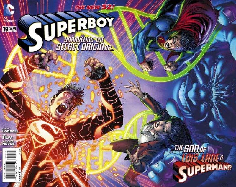A mãe do Superboy!