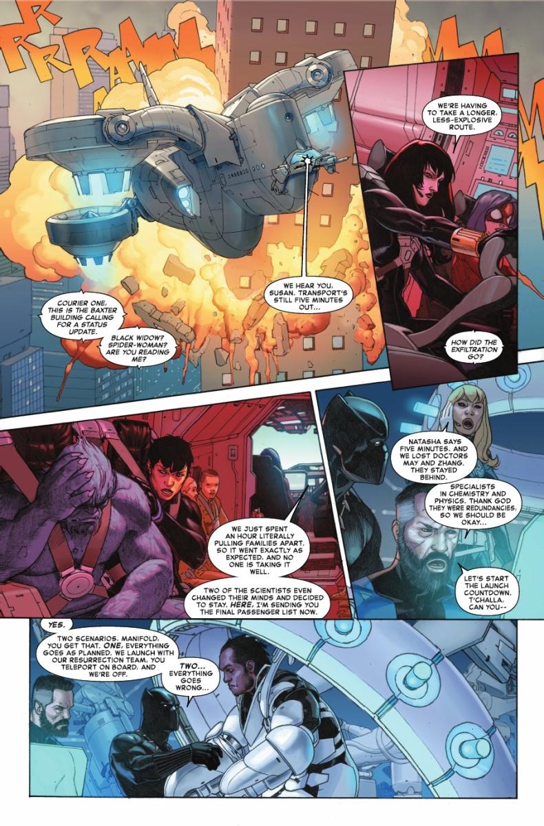Preview de Guerras Secretas #1 - Secret Wars