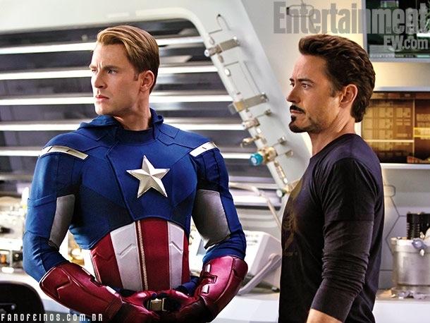 Capitão América - Homem de Ferro - Trailer de Os Vingadores