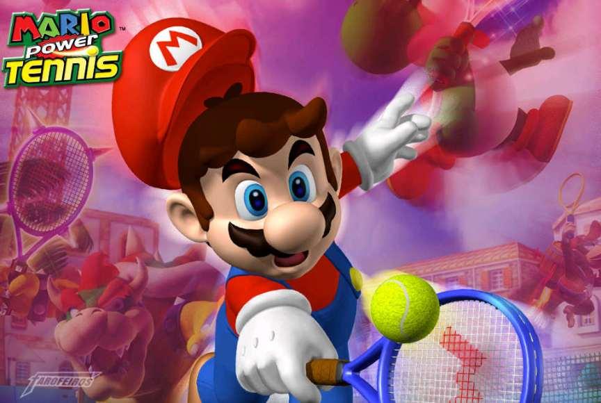 Super Mario Power Tennis - GameCube