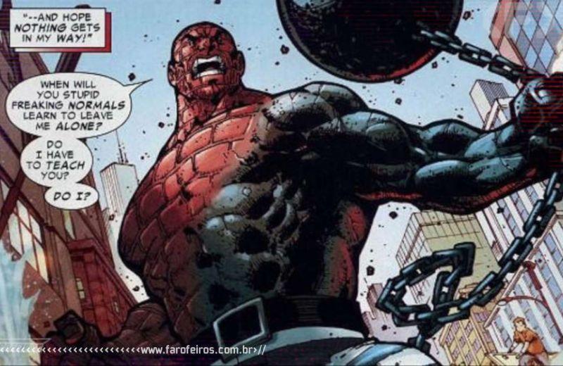 Super poderes ridículos - Homem Absorvente - Blog Farofeiros