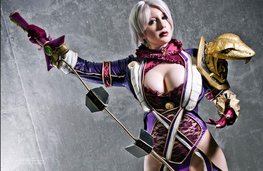 Cosplay de Ivy de Soulcalibur