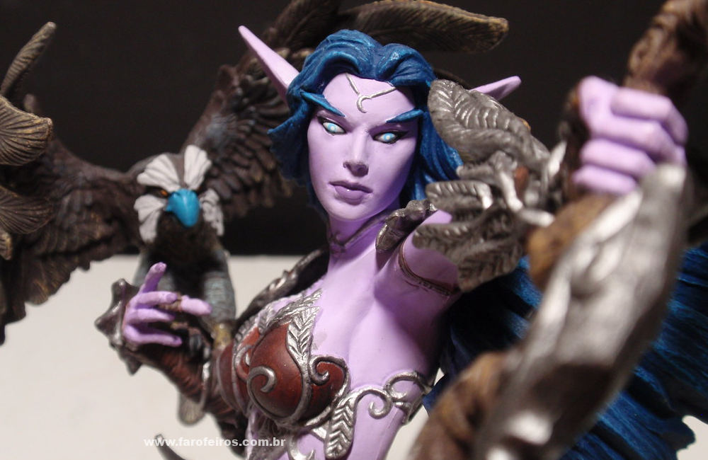 Alathena - World of Warcraft - Action Figure - Blizzard Store - Blog Farofeiros