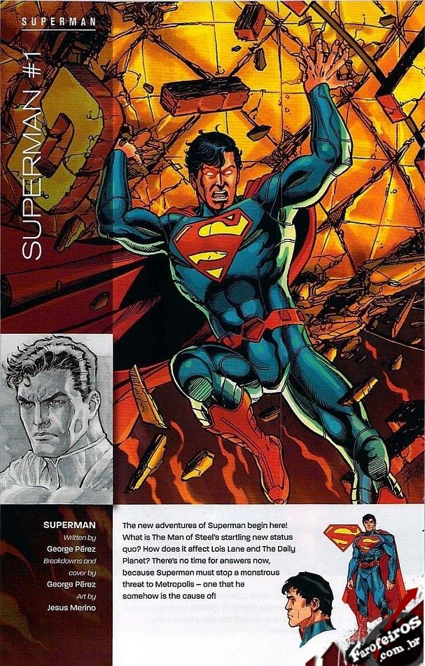 Preview de DC Comics - The New 52 - Novos 52 - Blog Farofeiros