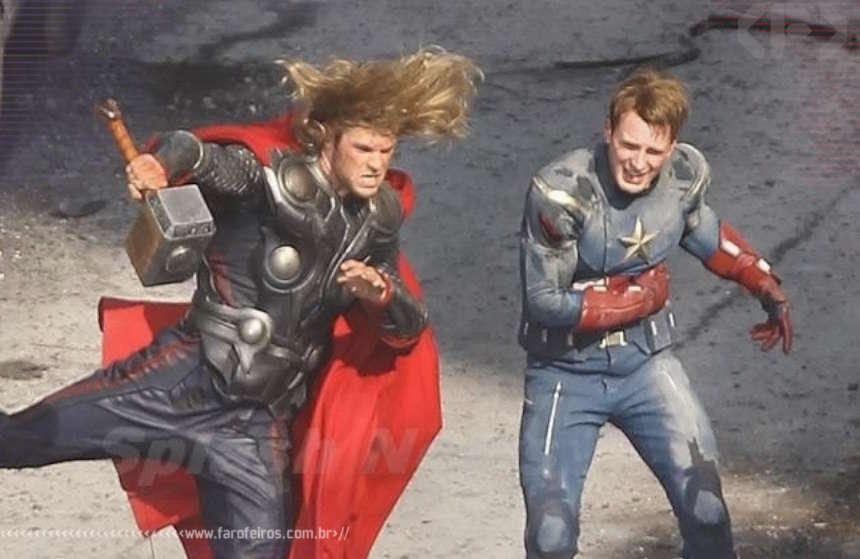 Bastidores de Os Vingadores - Marvel Studios - Blog Farofeiros
