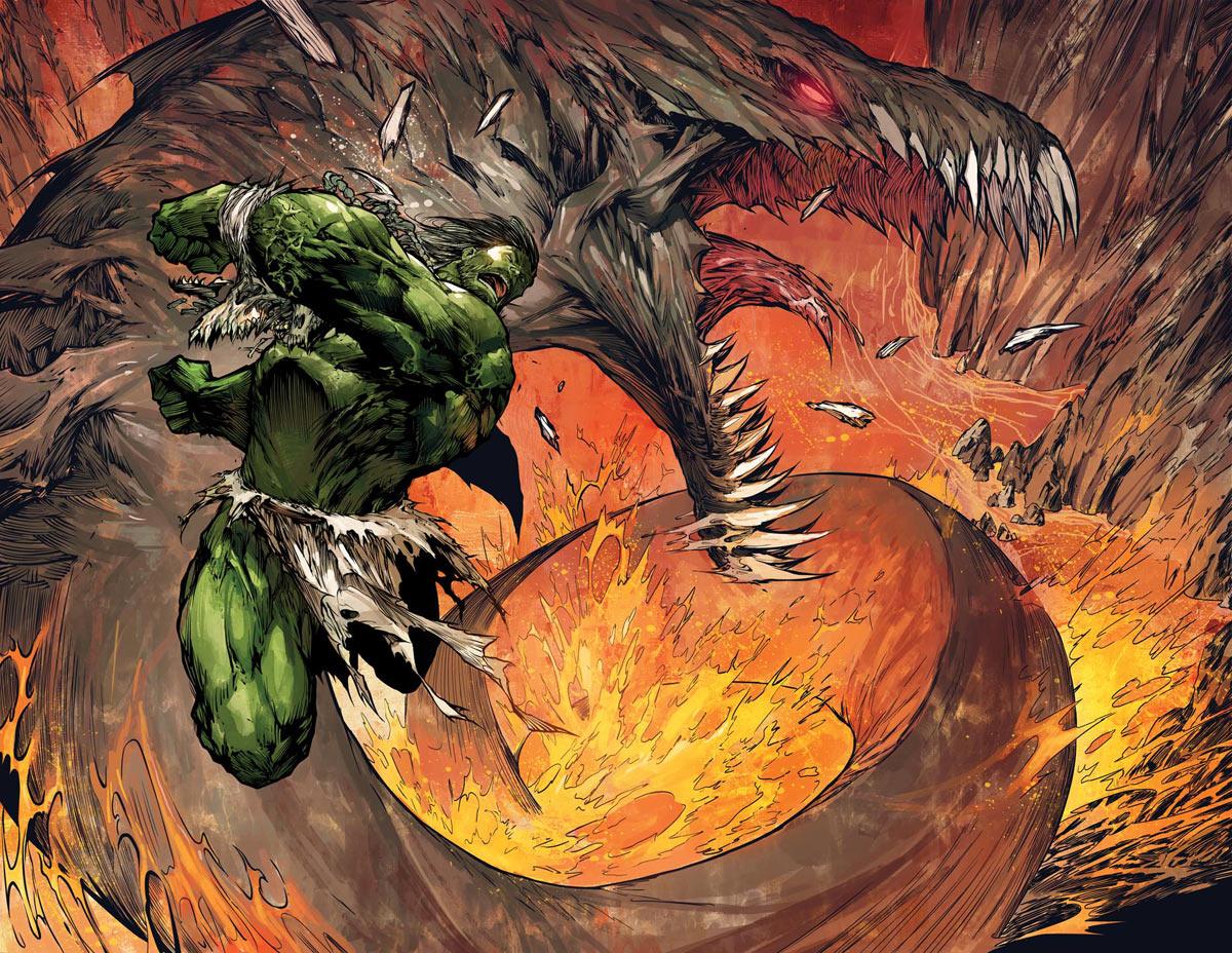 Hulk e Bruce separados - Marc Silvestri