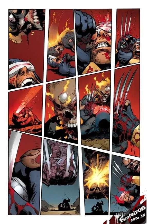 X-Men Cisma - Marvel Comics - Wolverine - Ciclope - Blog Farofeiros