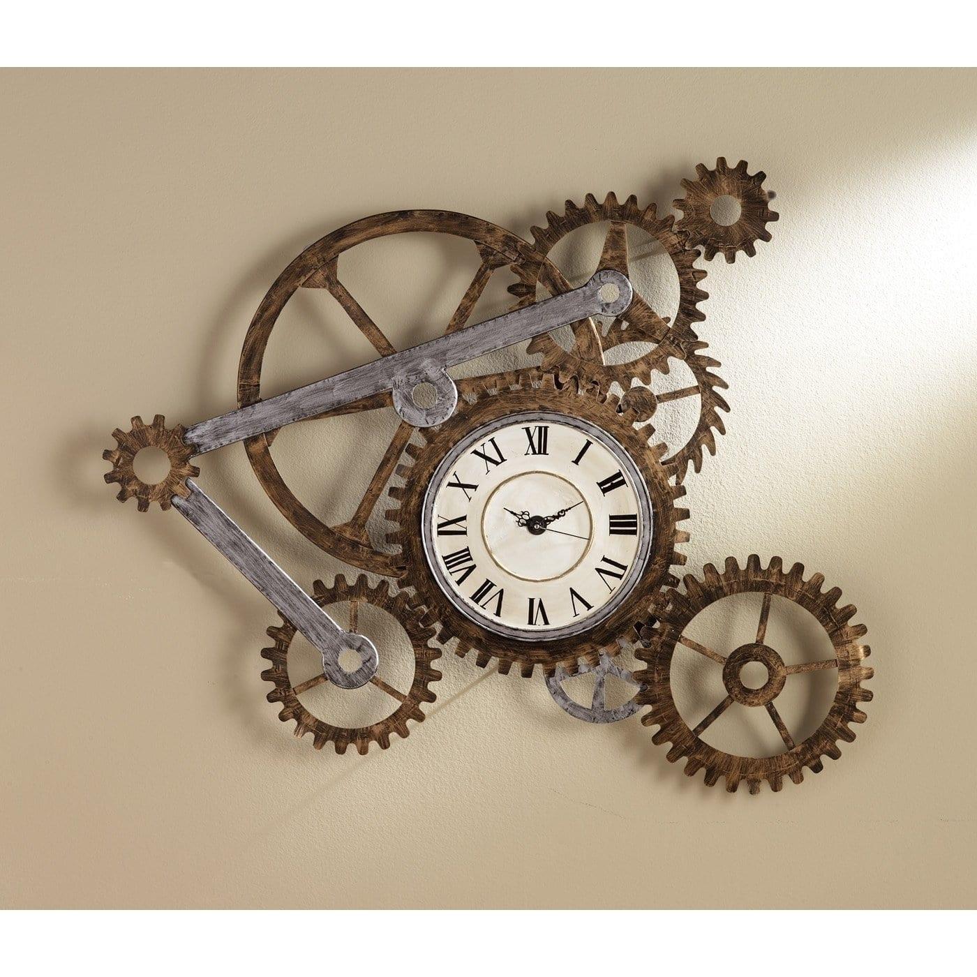 Relógio de engrenagens - Relógio Steampunk - Blog Farofeiros