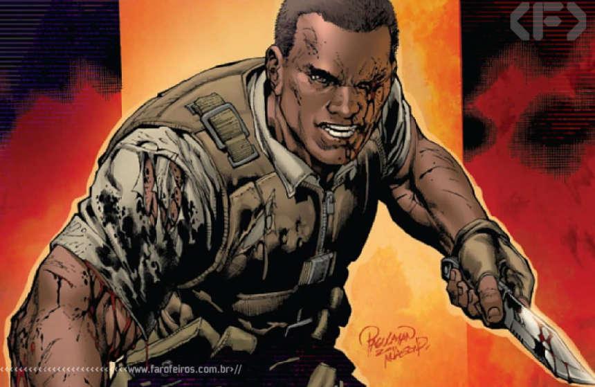 Nick Fury Jr - Battle Scars - Marcas de Guerra - Marcus Johnson - Blog Farofeiros