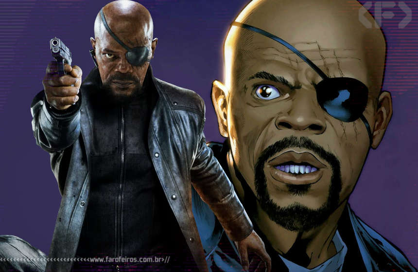 Nick Fury - Supremos - Ultimates - Samuel L Jackson - Blog Farofeiros