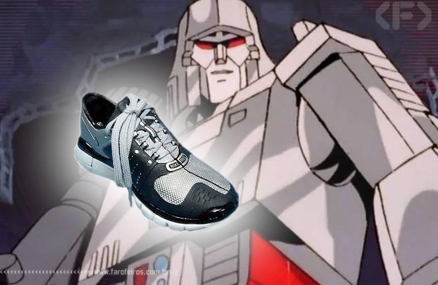Transformers - Tênis Nike Megatron - Blog Farofeiros