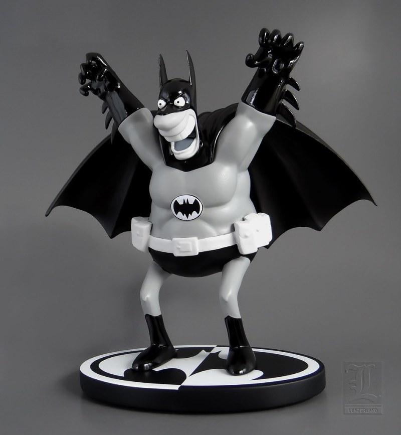 Batman Black & White Statue By Sergio Aragones - Blog Farofeiros