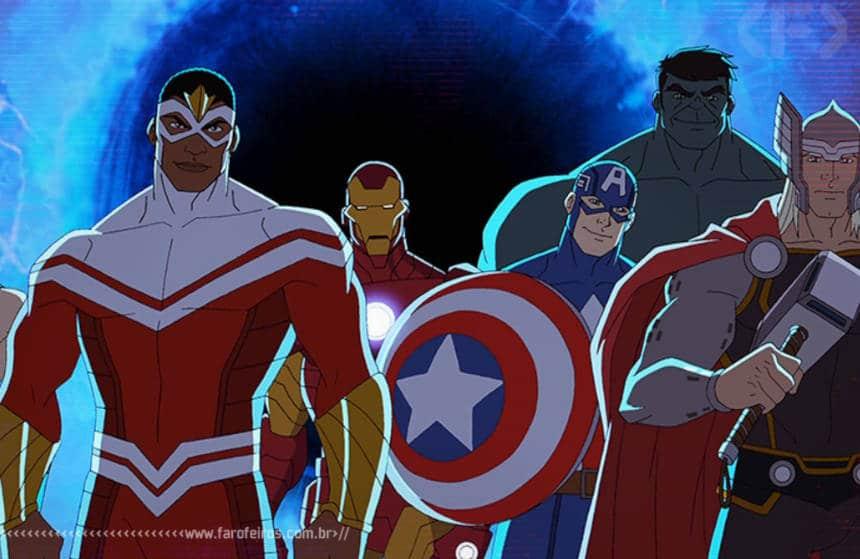 Nova temporada do desenho dos Vingadores - Avengers - Earth's Mightiest Heroes - Blog Farofeiros