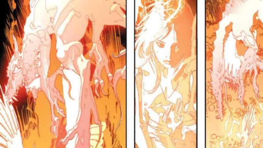 AvX #3: Capitão América briga com Wolverine e Hope se torna Fênix
