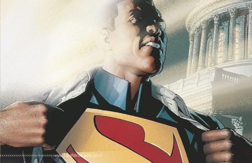 Superman negro - DC Comics - Blog Farofeiros