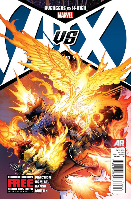 AVENGERS VS X-MEN #5 - AvX - Vingadores Vs X-Men - Blog Farofeiros