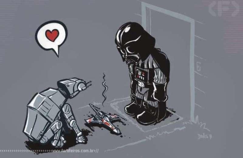 Presentinho para Darth Vader - Star Wars - Blog Farofeiros