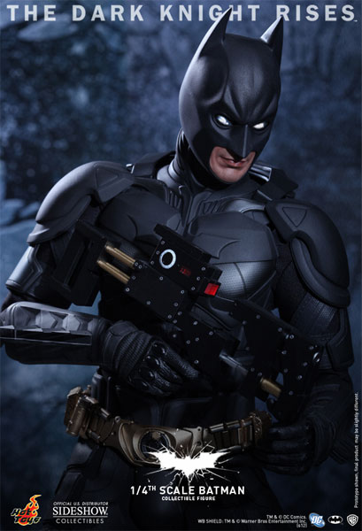 Batman - O Cavaleiro das Trevas Ressurge da Hot Toys 1/4 - Blog Farofeiros