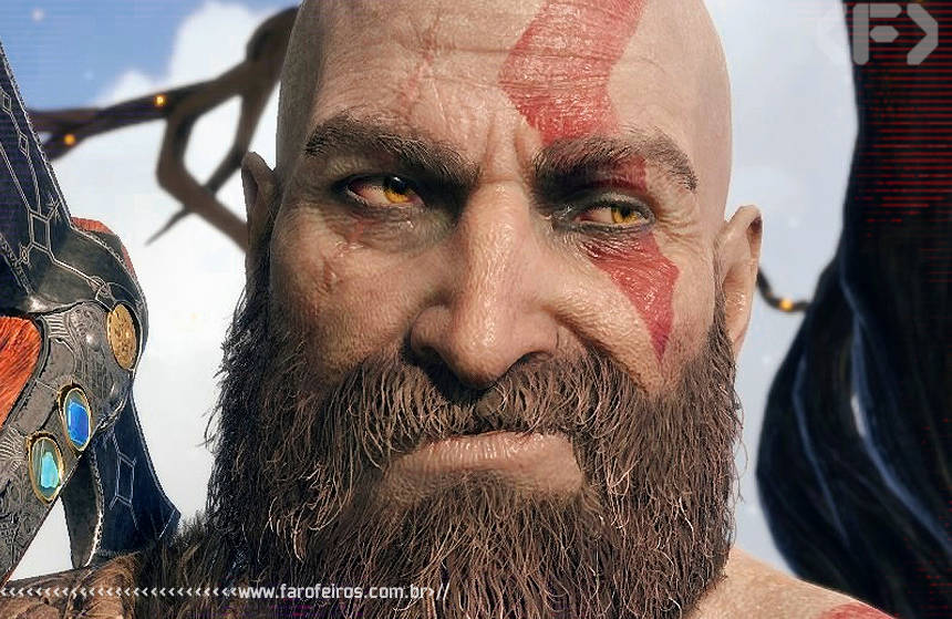 Filho real do Kratos - God of War - Blog Farofeiros