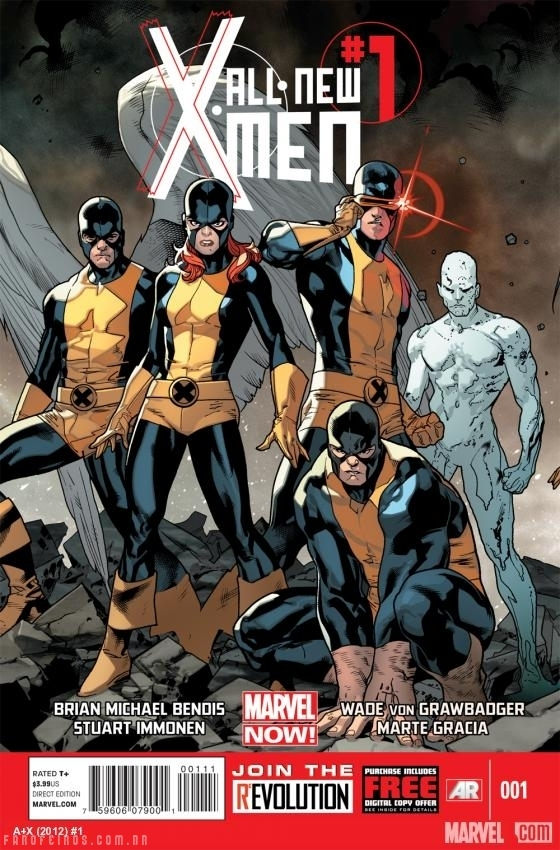 Preview de All-New X-Men #1 - Blog Farofeiros