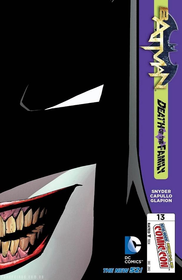 Preview de Batman #13 - Death of the Family - DC Comics - Blog Farofeiros