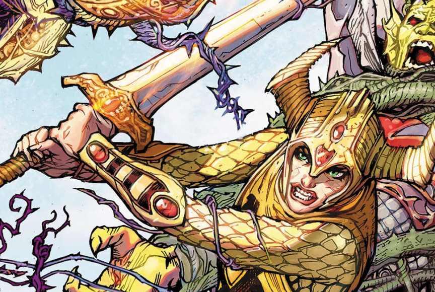 Cavaleiro Brilhante é o primeiro personagem intersex da DC Comics.