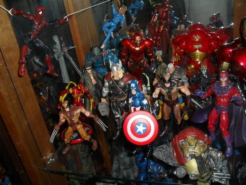 Diversos Marvel Legends - Meus bonecos - 2013 - Blog Farofeiros