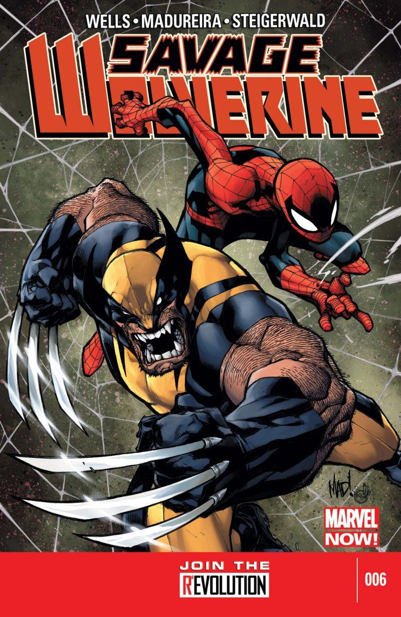 Joe Madureira desenhando Wolverine - Savage Wolverine #6 - Blog Farofeiros