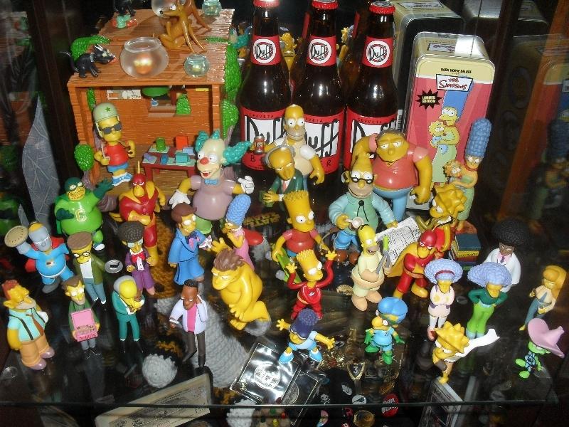 Os Simpsons - Meus bonecos - 2013 - Blog Farofeiros